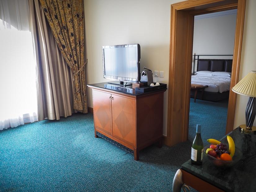 Suite at the Muscat Grand Hyatt