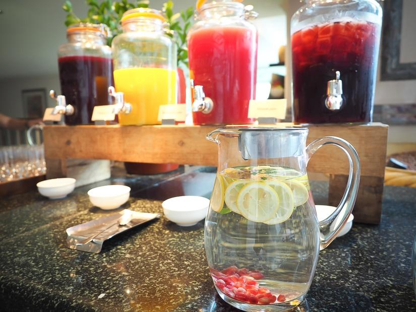Fruit juices, Mokha Cafe, Oman