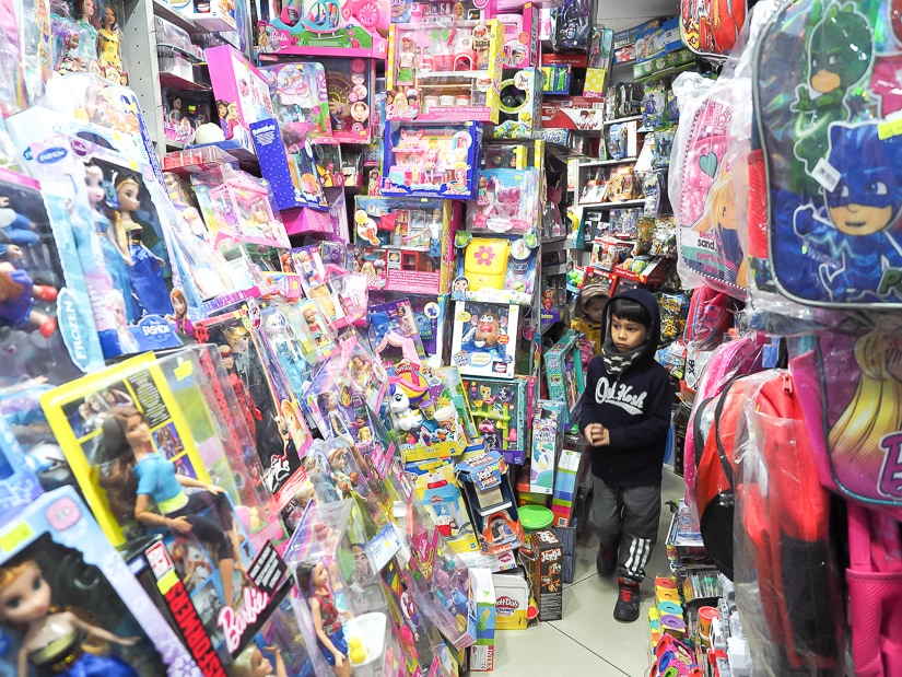 Toy store in Kadikoy, Istanbul