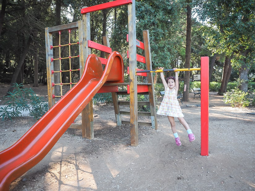 Playground on Lokrum Island