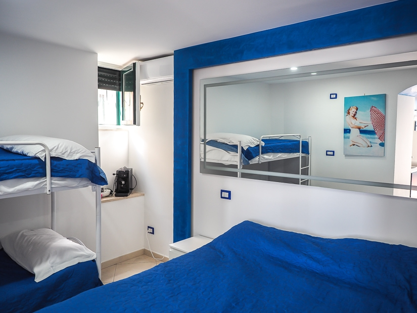 Bedroom of Marinella Casa Vacanze, one of the best places to stay in Cetara