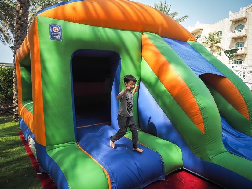 Kids activities for Friday brunch at Grand Hyatt Muscat