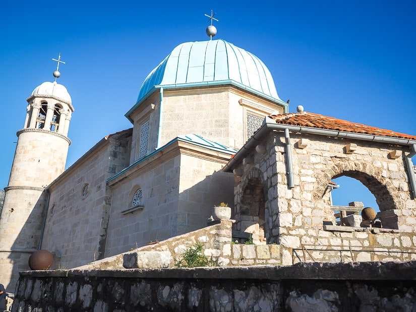 Our Lady of the Rocks church, Perast, Montenegro