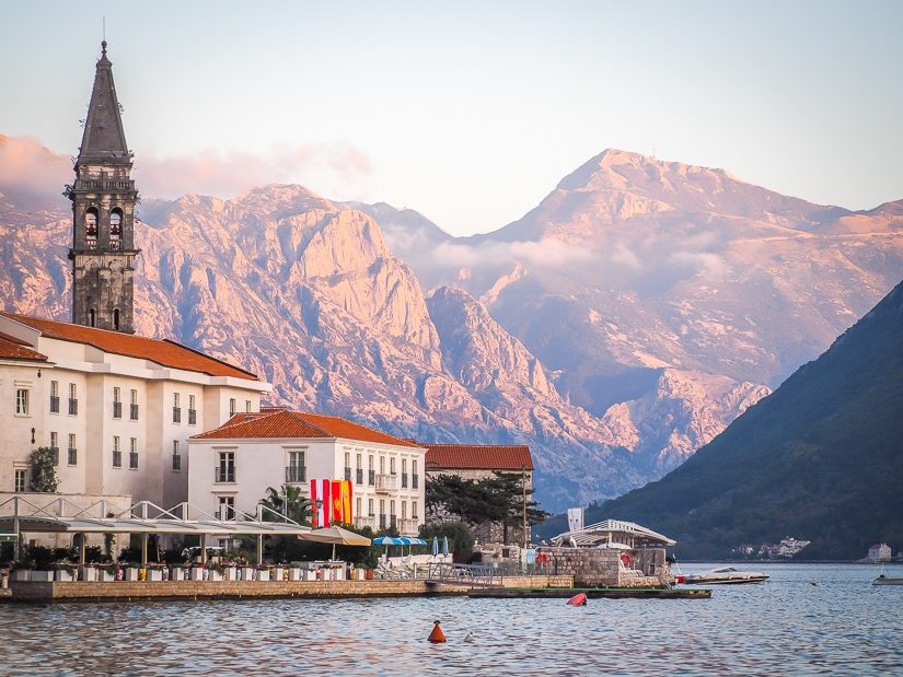 Perast, which can easily be done as a day trip from Kotor
