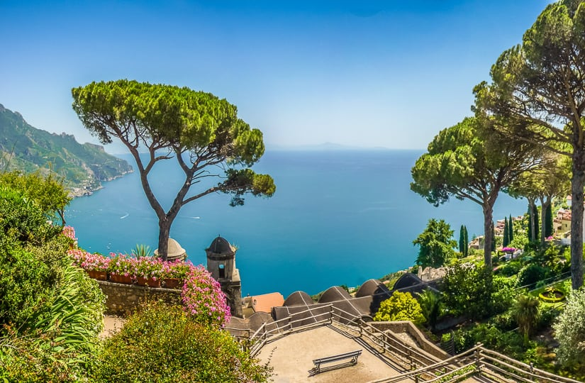 Visiting Ravello with kids