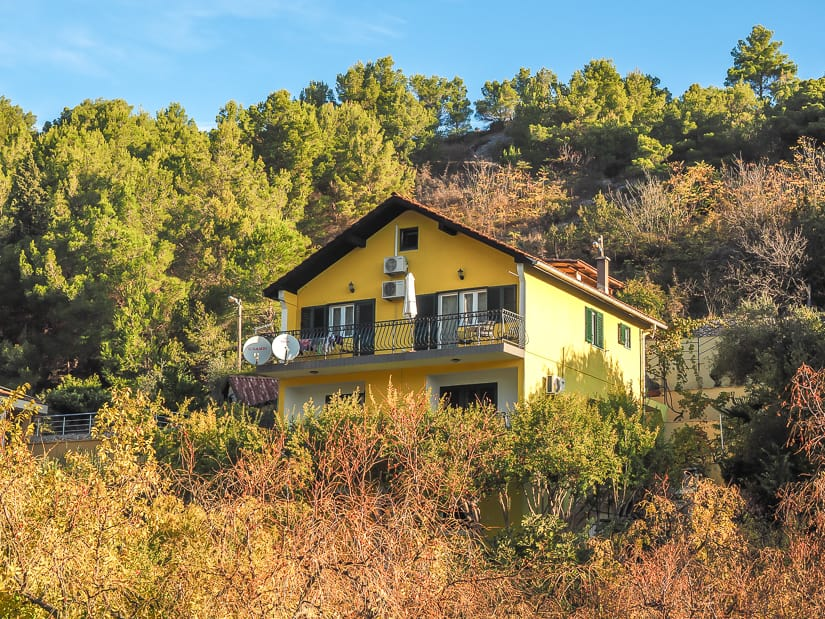 The best budget apartment in Skradin: Apartments Formenti