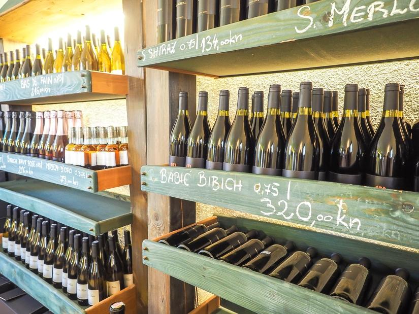 Bibich winery in Plastovo, near Skradin