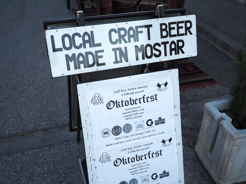 Craft Beer Garden Imaimože, the best place to try craft beer in Mostar