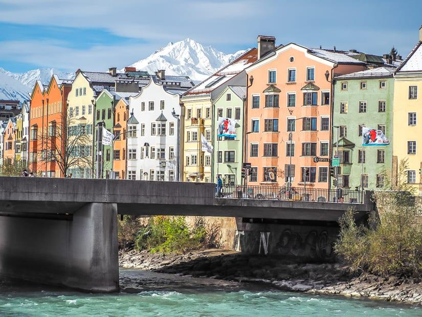 Innbrücke bridge, Innsbruck