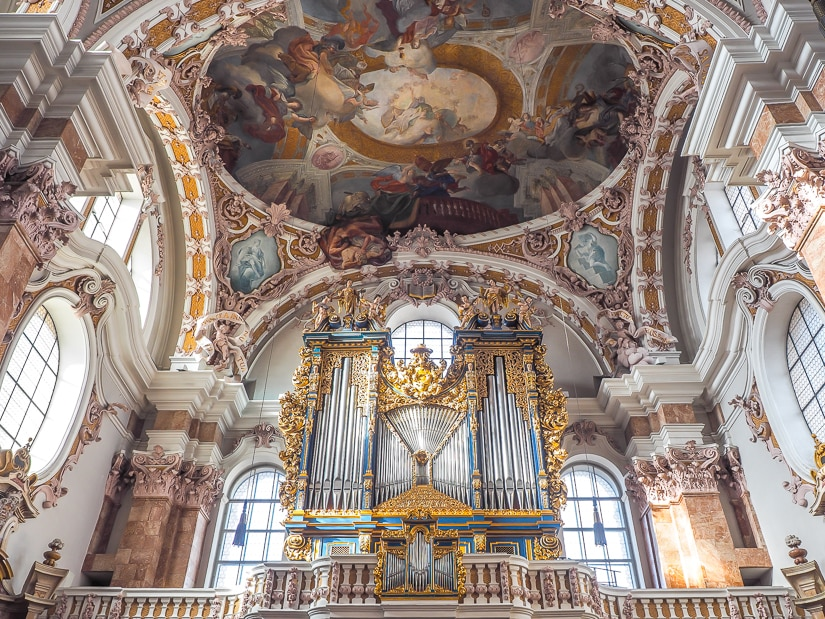 Organ at Innsbruck Cathedral (Cathedral of Saint James)