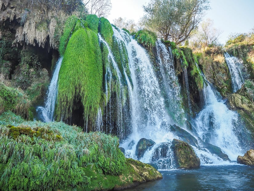 Kravice (Kravica) Waterfall, also possible to be done as a Mostar day trip