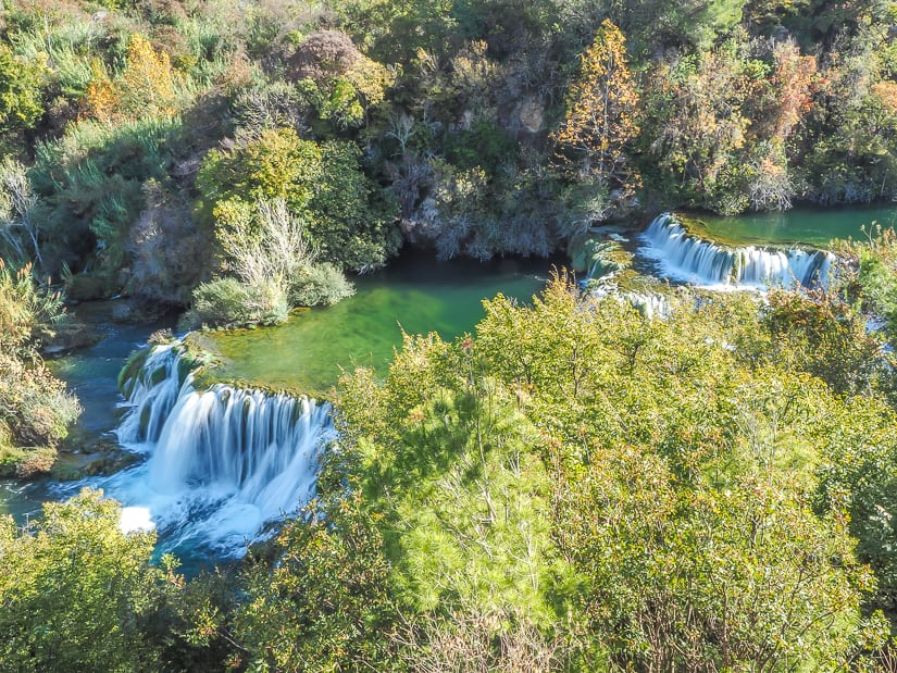 Krka National Park, an easy day trip from Skradin, Croatia