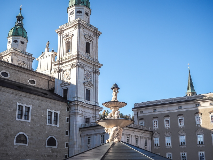 Residenzplatz, Salzburg Old Town