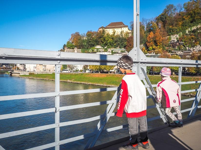Visiting Salzburg with kids in autumn