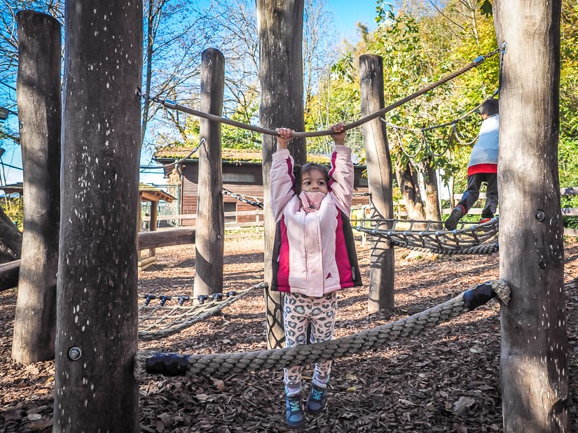 Salzburg Zoo playground