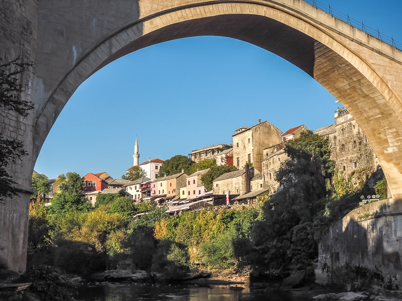 If you're wondering what to do in Mostar, start at the Stari Most bridge