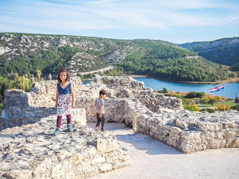 Staying in Skradin to visit Krka National Park with our kids