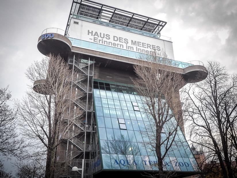 Aqua Terra Zoo Vienna (Vienna Aquarium) building exterior