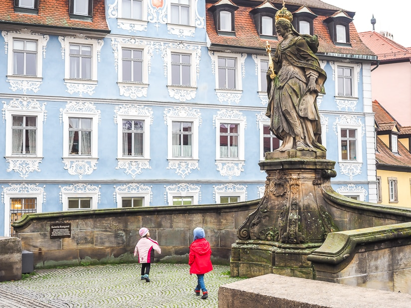 Visiting Bamberg with kids