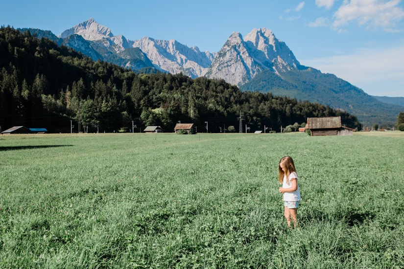 Visiting Bavaria's Garmisch with kids