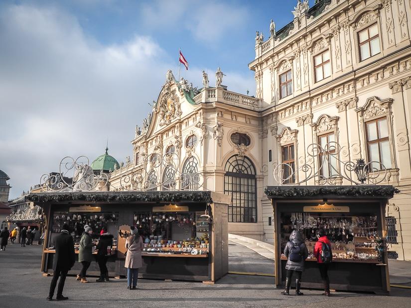 Belvedere Christmas Market, Vienna