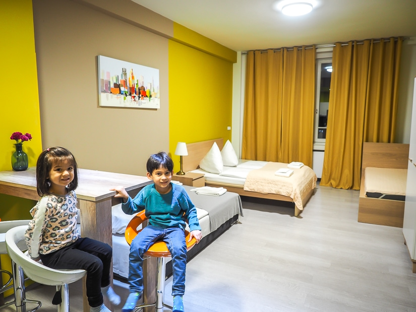 Our kid-friendly Prague hotel