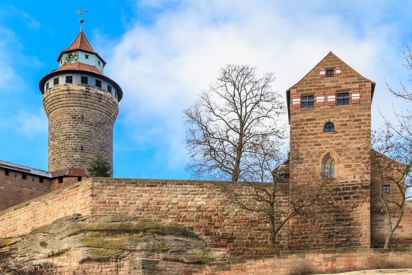 Visiting Nuremberg's Imperial Castle with kids