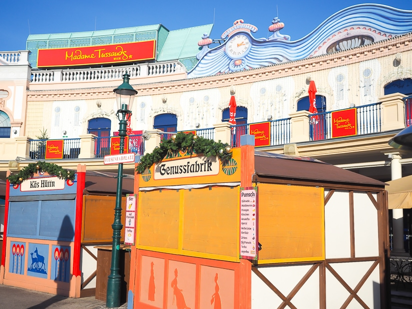 Visiting Prater Amusement Park in winter