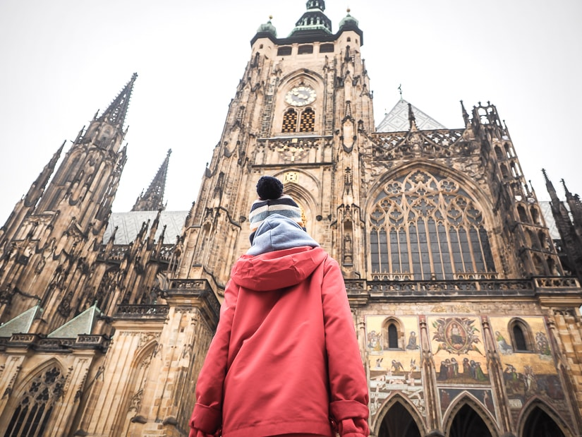 Visiting St. Vitus Cathedral in Prague Castle
