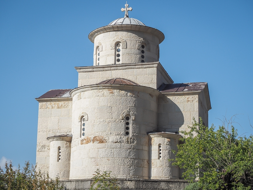 Exterior of Church of St. Martyr Stanko, Ostrog Monastery