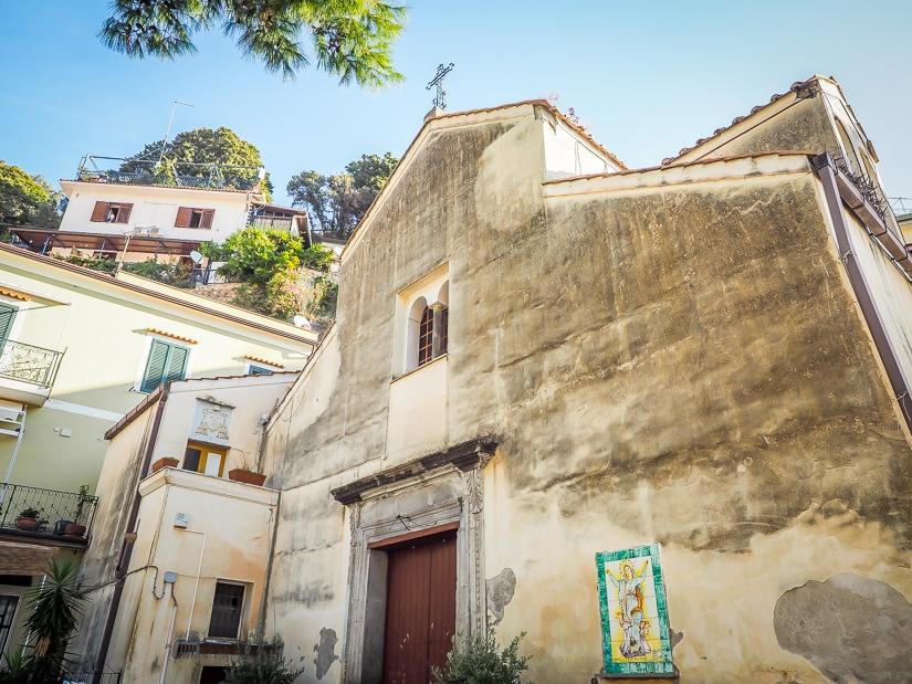 Church of Santa Maria Assunta (Parrocchia S. Maria Assunta or Chiesa di Santa Maria Assunta), the main Erchie Church or Erchie Cathedral)