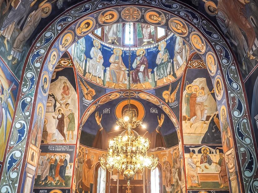 Interior of Church of St. Martyr Stanko, Ostrog Monastery