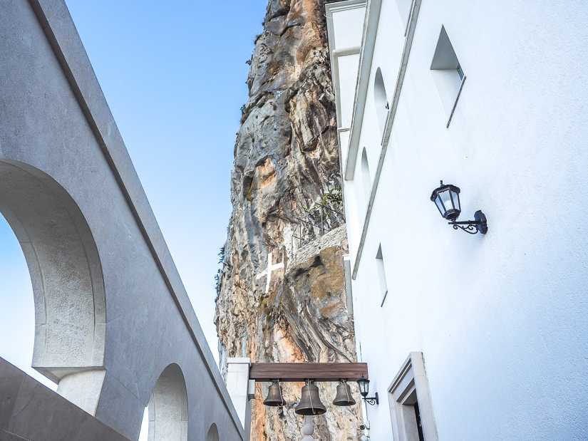 Find out how to get to Ostrog Monastery, pictured here, in this post