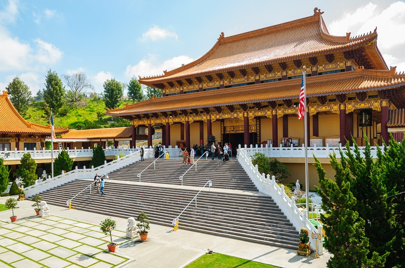 Hsi Lai Temple, one of the most spiritual sights in the US