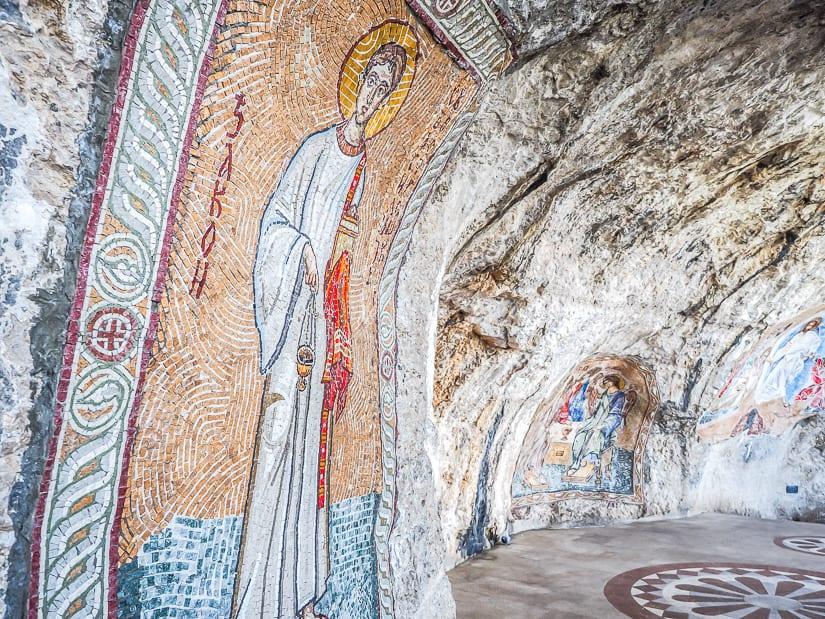 Frescos at Ostrog Monastery
