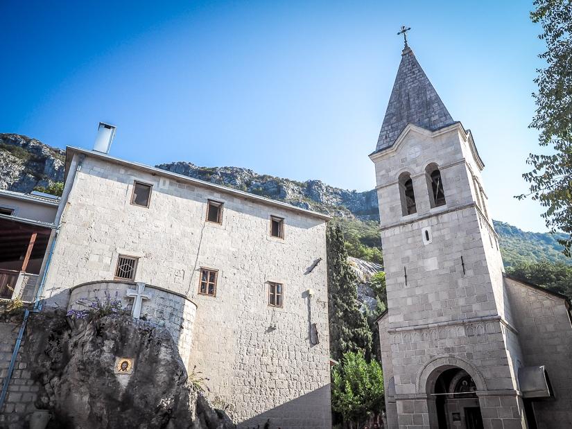 Holy Trinity Church, Ostrog Lower Monastery