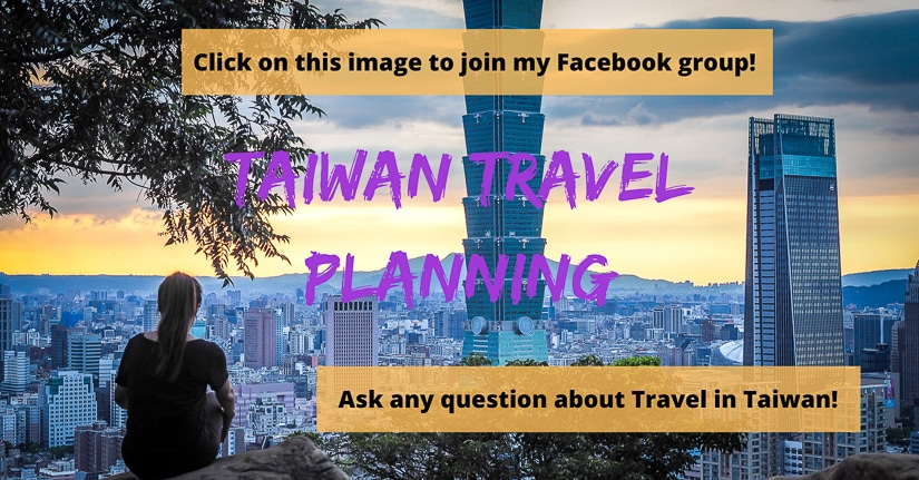 Taiwan travel planning group