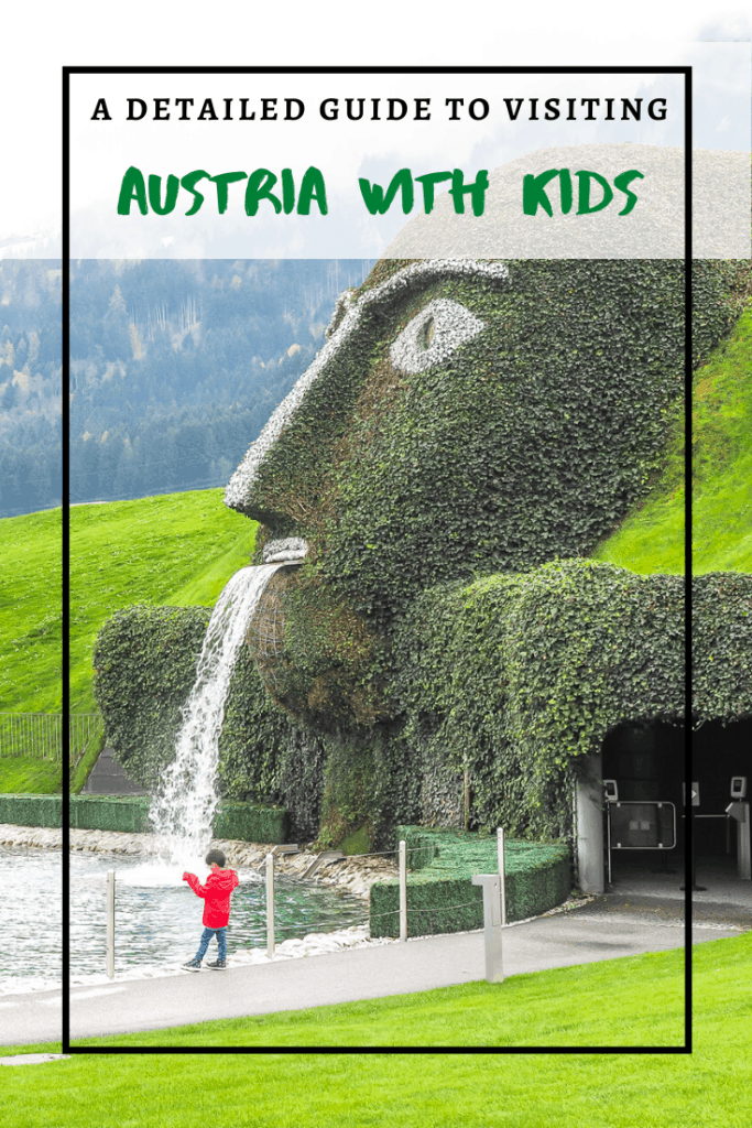 Planning to visit Austria with kids? Find the best places to visit in Austria with children in this detailed guide | austria travel | austria family trip | austria with a baby | austria with a toddler | europe with kids | europe travel with kids | vienna travel | vienna with kids | salzburg travel | salzburg with kids | traveling with kids | places to visit in Europe with kids | innsbruck travel | innsbruck with kids | family trip to europe