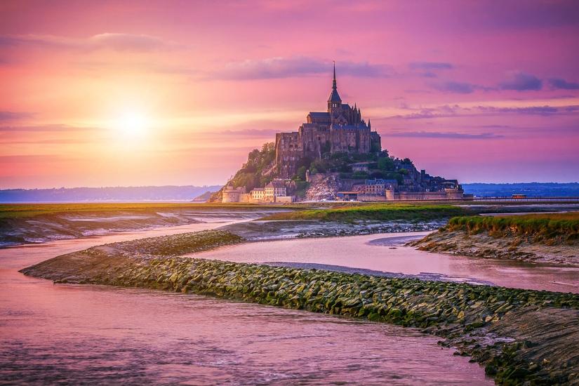 Pilgrimage to Mont Saint Michel in France