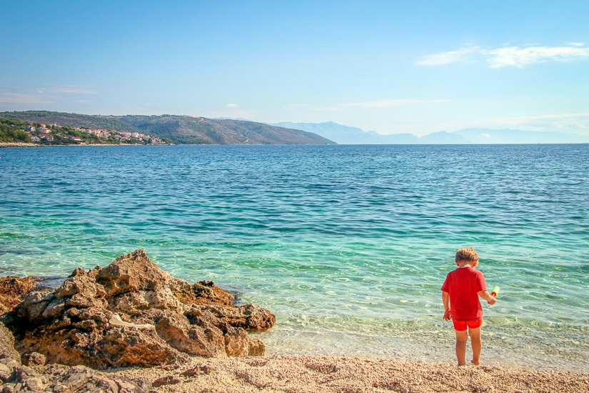 Which Croatian island to visit with kids? There are many to choose from