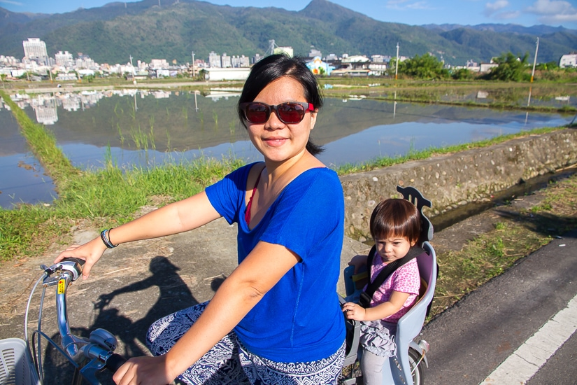 The Dongshan Mr. Brown Avenue, one of the best places to go cycling in Yilan