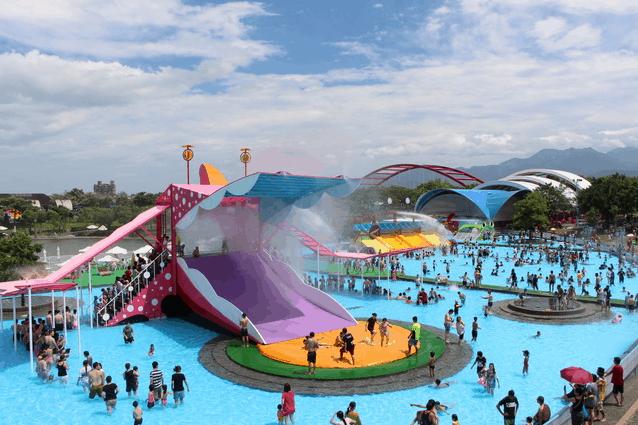 Dongshan River Park (Dongshan Waterpark) in Yilan County