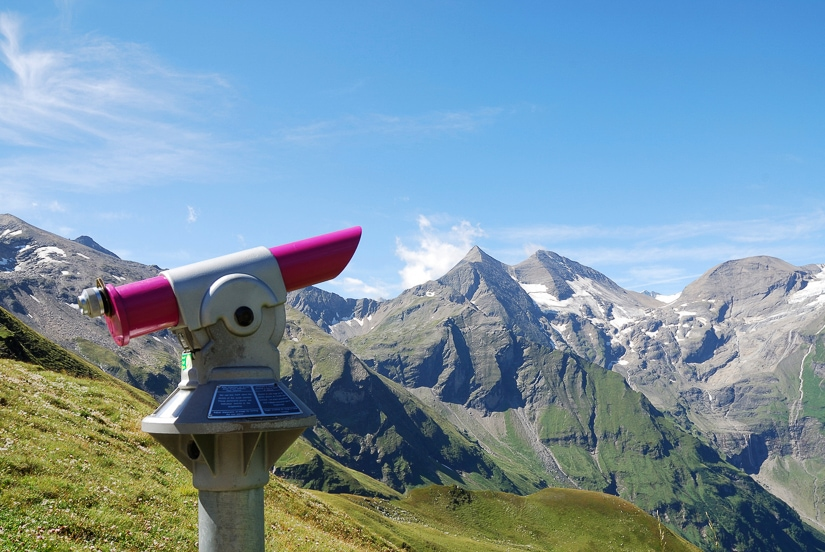Viewpoint along Grossglockner High Alpine Road