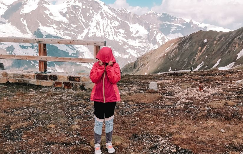 Visiting Grossglockner, Austria with young children