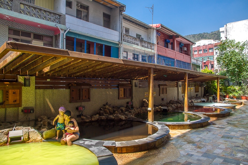 Chuan Tang Hot Spring Spa Jiaoxi, one of the best hot springs in Yilan