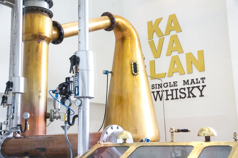 Kavalan Whisky Distillery, one of the most famous Yilan attractions