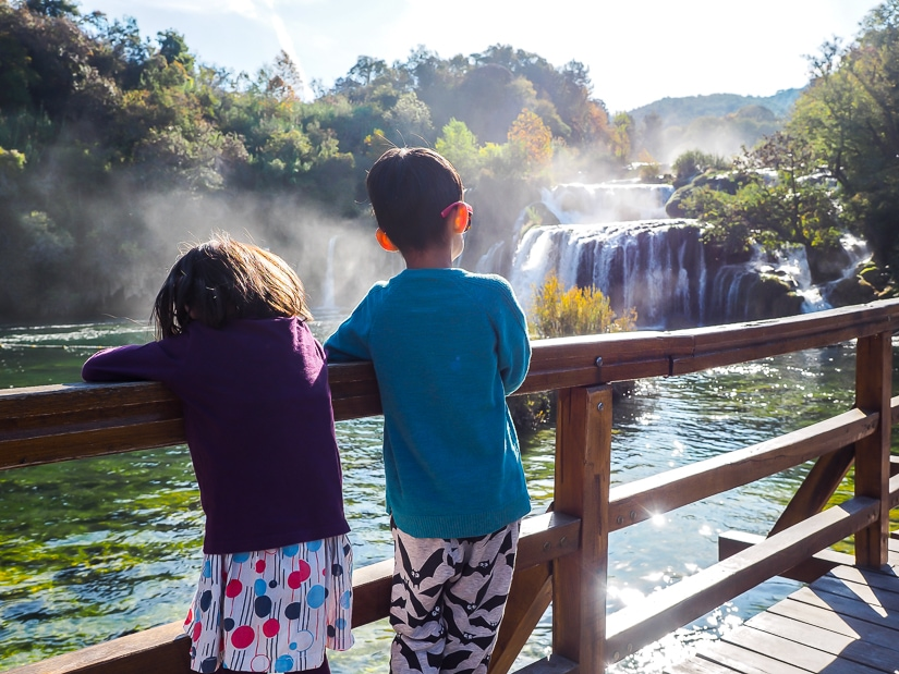 Visiting Krka National Park with kids