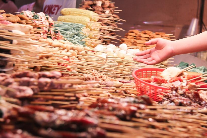 Luodong Night Market, the best Yilan night market