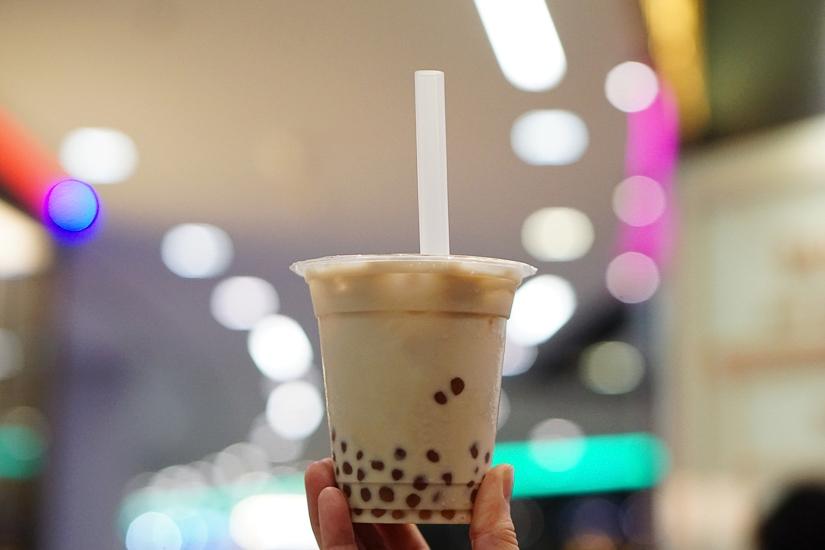 Picture of bubble tea (pearl milk tea) in Yilan Taiwan