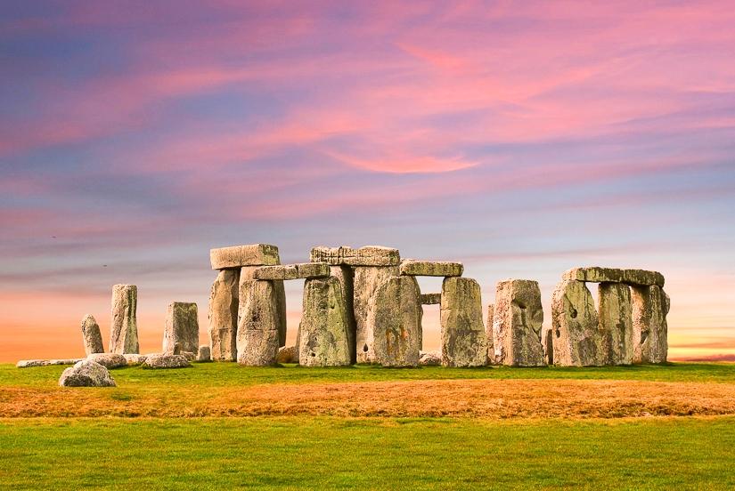 Final destination of the pilgrimage to Stonehenge